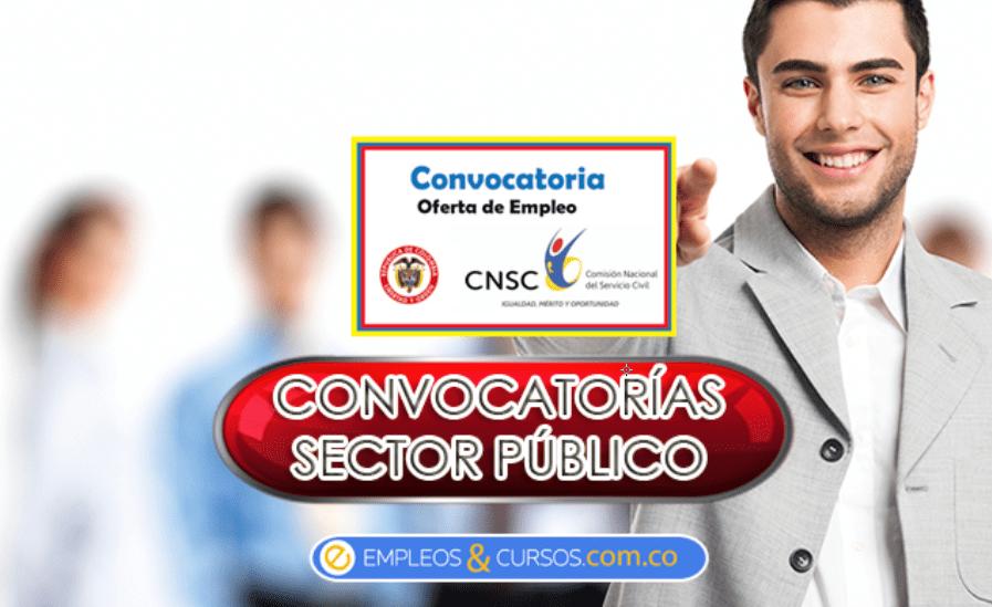 convocatoria de empleo publica CNSC