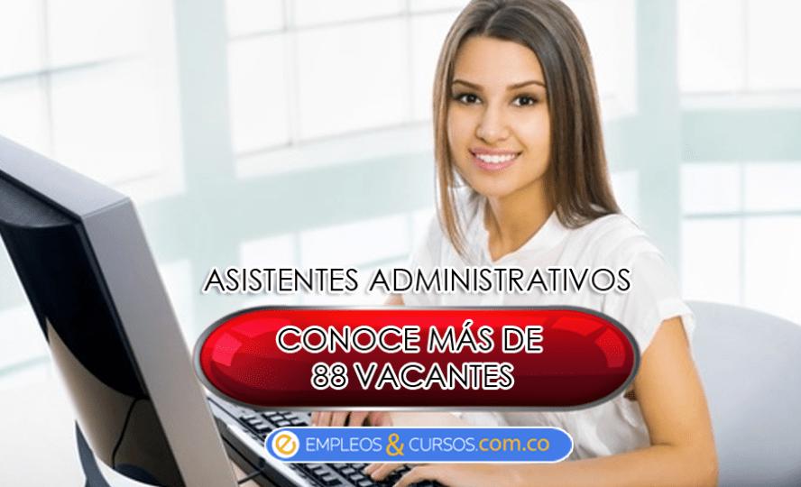 ofertas de trabajo-asistentes-administrativos