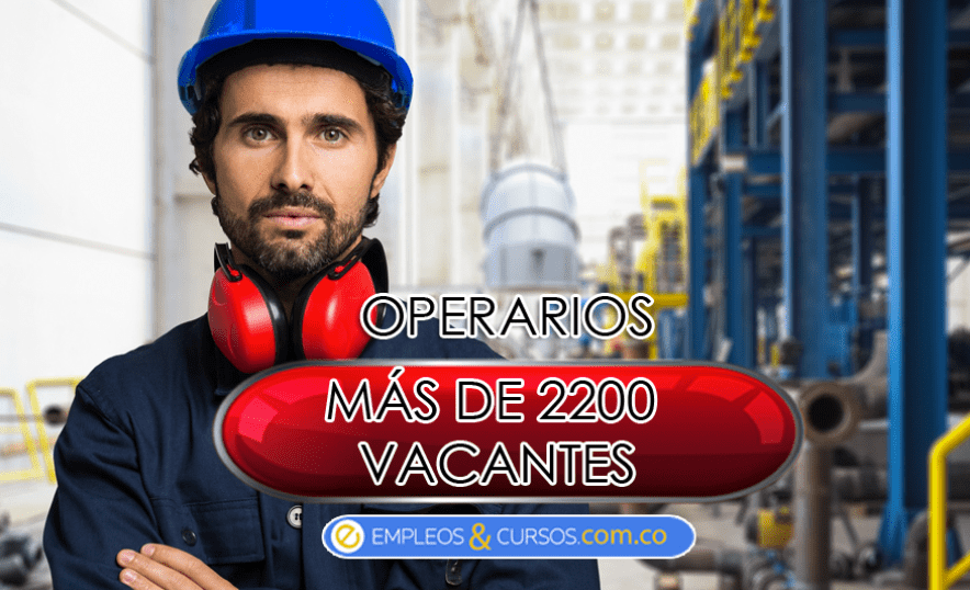 Oferta de empleos operarios