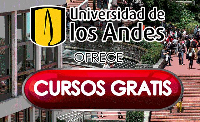 Cursos gratis universidad de los andes colombia