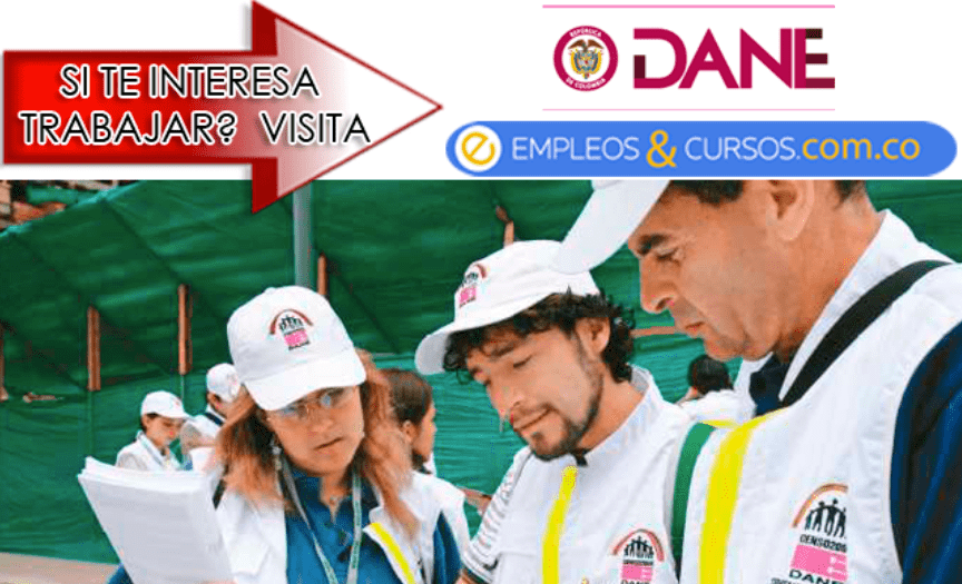 Convocatoria de empleo DANE