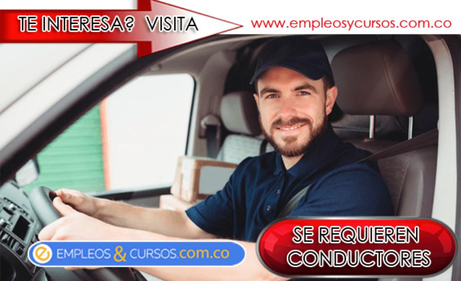 trabajo conductores