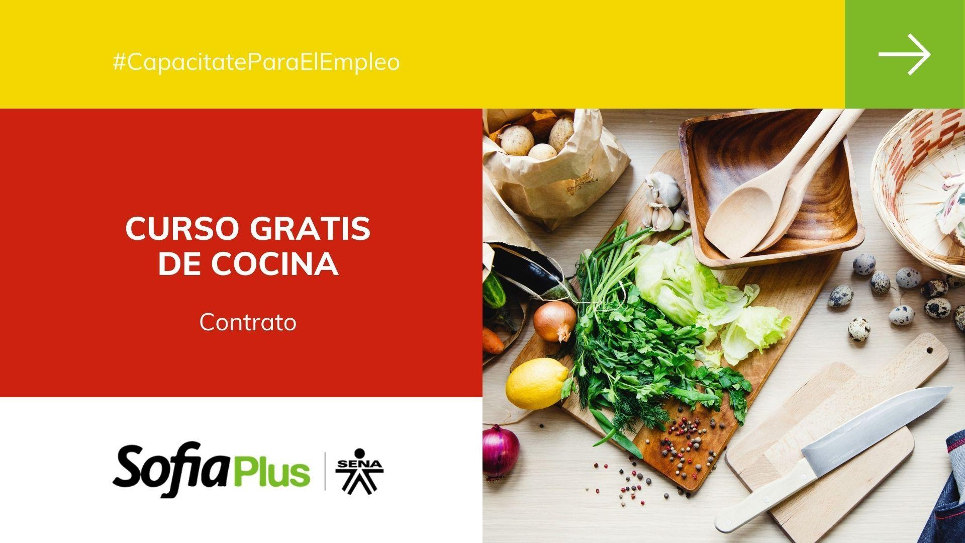 Curso gratis certificado de cocina